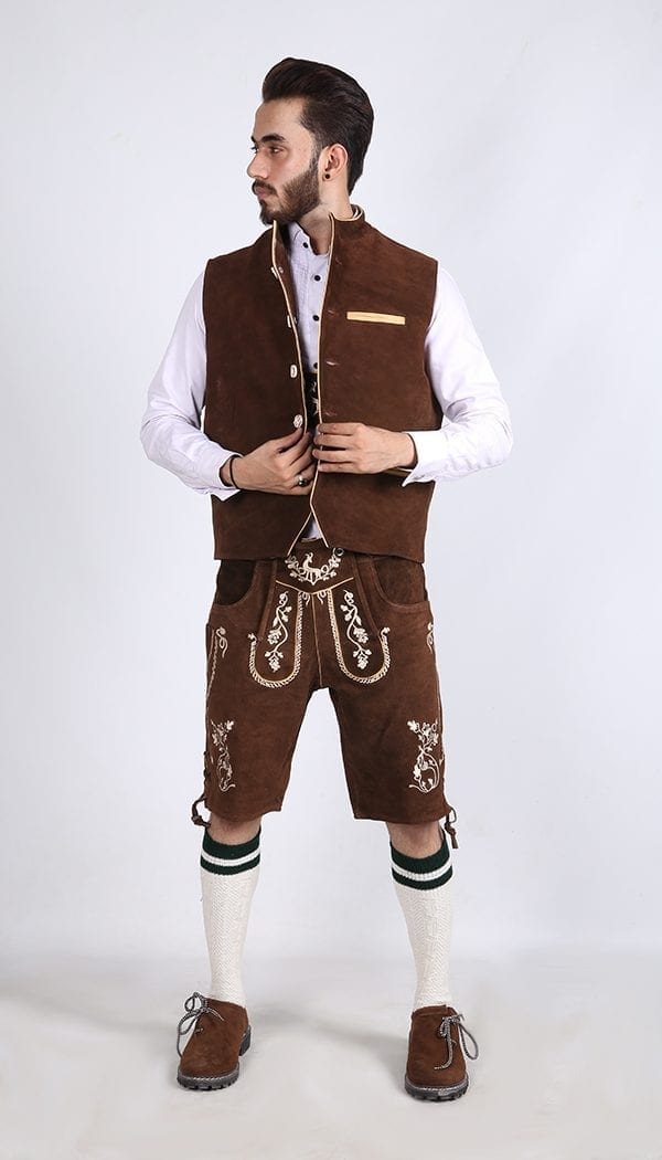 Brown Waist coat 3