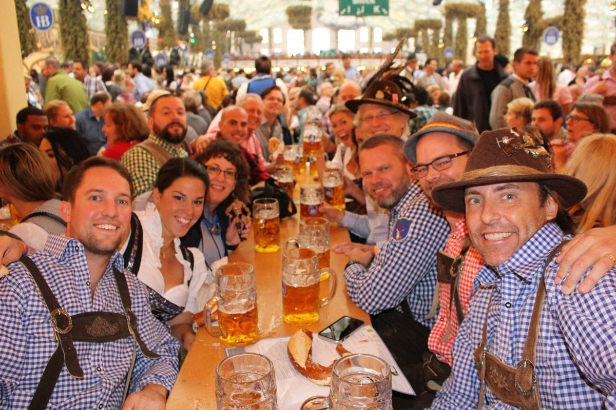 Oktoberfest and Genuine Lederhosen